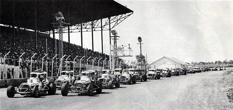 National Modified Championship Races At Hutchinson Kansas