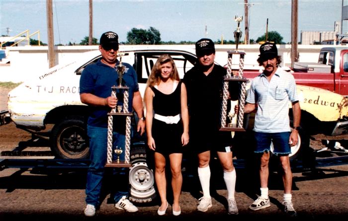 limited sportsman at hutchinson kansas on august 1 1992. Black Bedroom Furniture Sets. Home Design Ideas