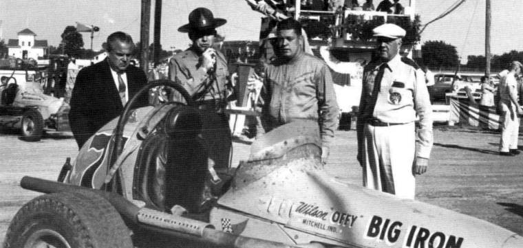 Sprint car races at hutchinson kansas on september 18 1960 for Rose motors hutchinson ks