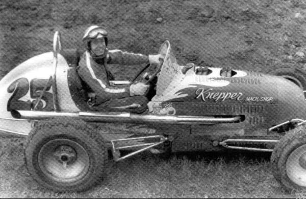 Sprint Car Races At Hutchinson Kansas On September 13 1958