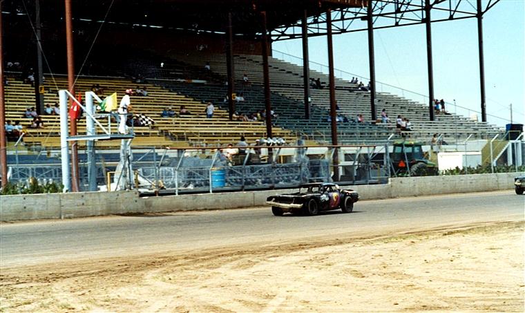 stock car races at hutchinson kansas on september 14 1992. Black Bedroom Furniture Sets. Home Design Ideas