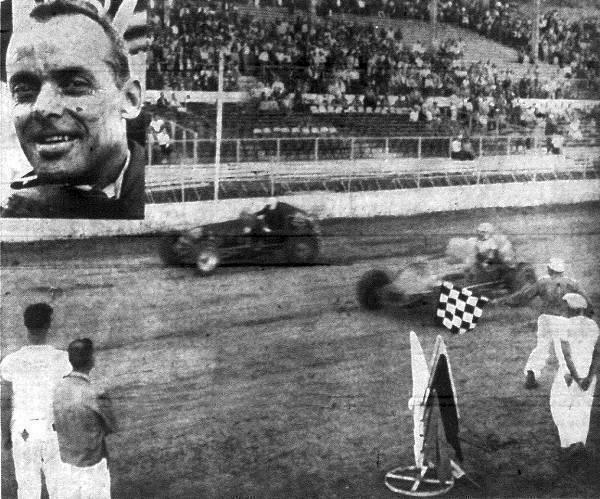 Sprint Car Races At Hutchinson Kansas On September 17 1958