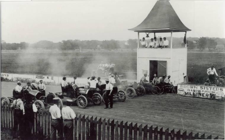 Wichita fairgrounds racetrack for Winfield motors wichita ks